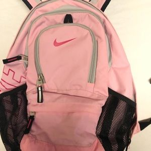 Nike backpack pink big lots of pockets